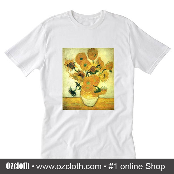 Vase With Fifteen Sunflowers T-Shirt