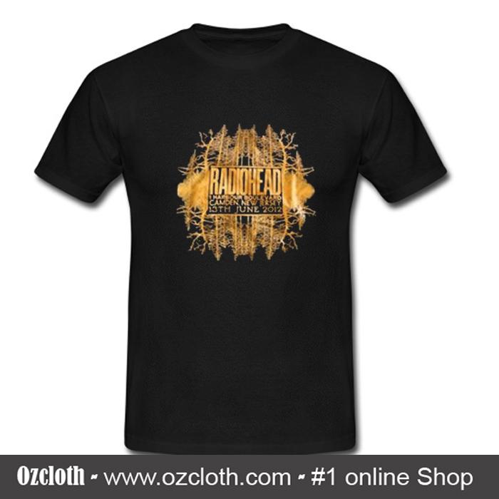 radiohead concert new jersey t-shirt