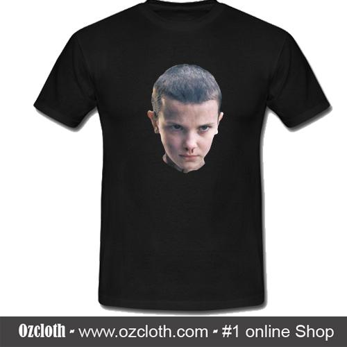 18c54544 Eleven from Stranger Things T-Shirt - ozcloth