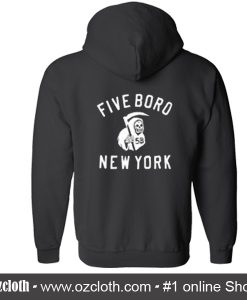 Five Board New York Hoodie back