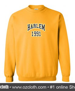Harlem 1991 Yellow Sweatshirt