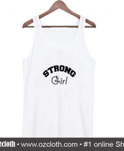 Strong Girl Tan Top