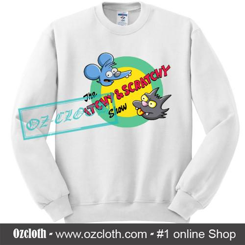 The_Itchy_Scratchy_Show_Sweatshirt