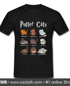 Potter Cats T Shirt