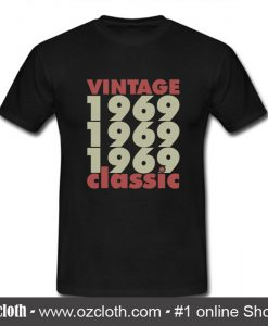 1969 - 2019 50 Years Perfect T Shirt