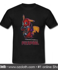 Deadpool Mashup Pikachu into Pikapool T Shirt