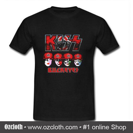 Kiss Buckeyes Ohio State T Shirt