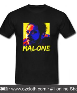Post Malone Canvas Painting T Shirt