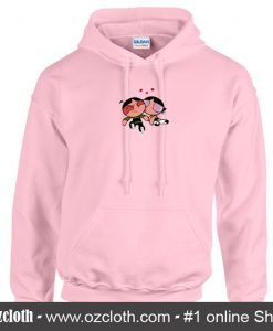 Powerpuff Girl Buttercup Kiss Hoodie