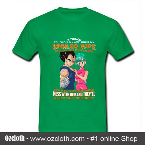 Son Goku 3 Things You Should Know T Shirt