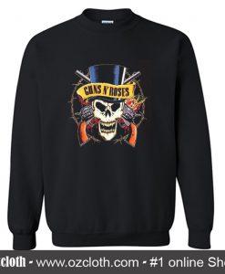 Guns N Roses Skeleton Sweatshirt (Oztmu)