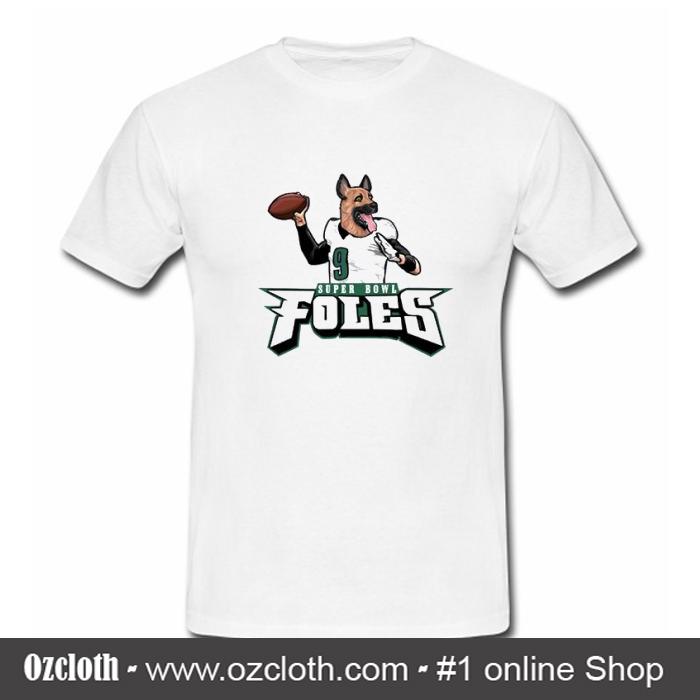 best website 7fab9 515d1 Super Bowl Nick Foles T-Shirt (GPMU)