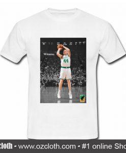 Witness Brian Scalabrine Boston T Shirt (Oztmu)