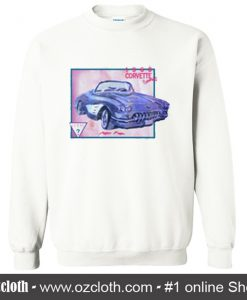 1960 Corvette Convertible Sweatshirt (Oztmu)