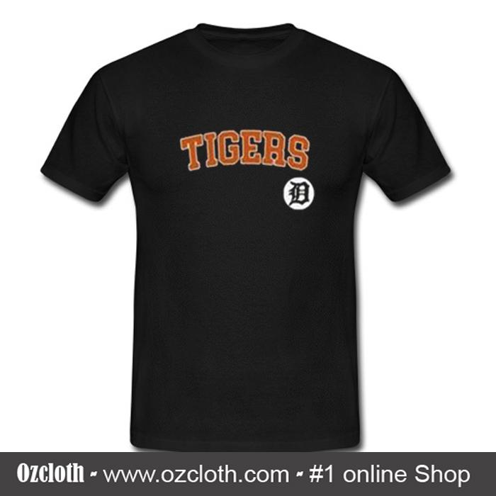 sports shoes d6741 772e0 Detroit Tigers T Shirt (Oztmu)