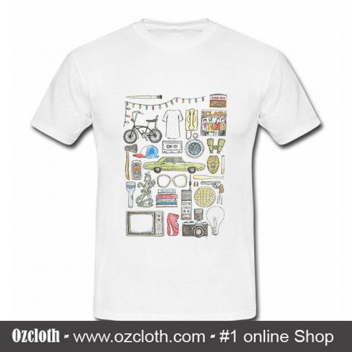 Illustration Barb Glasses Quote Eggs 011 T Shirt (Oztmu)