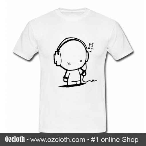 Music Man T Shirt (Oztmu)