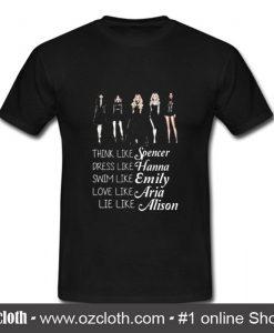 Pretty Little Liars T Shirt (Oztmu)