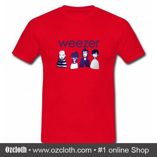 Weezer Rock Tour Concert T Shirt (Oztmu)