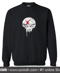 X Red Crewneck Sweatshirt (Oztmu)