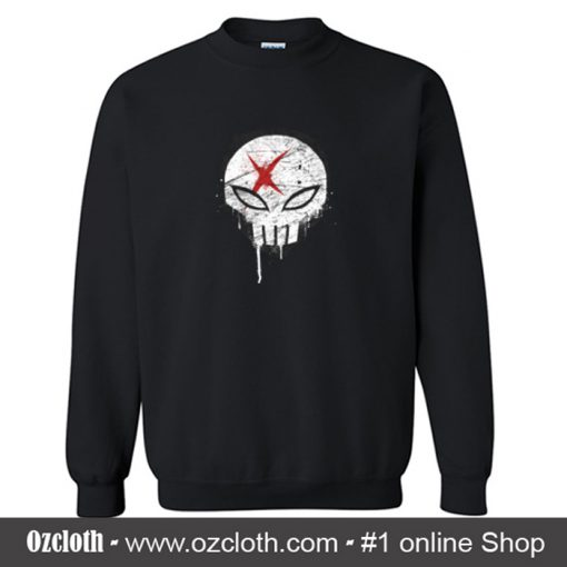 X Red Crewneck Sweatshirt (Oztmu)