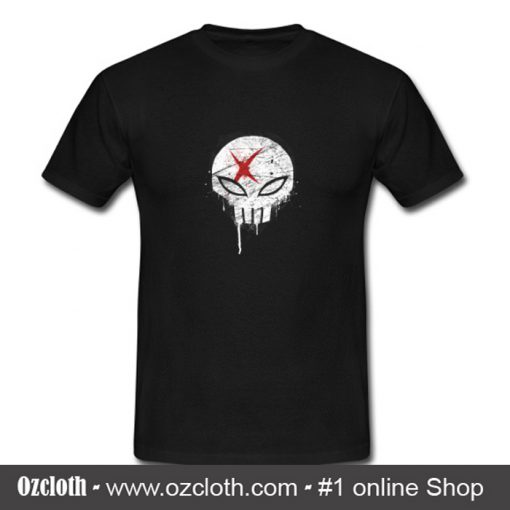 X Red Crewneck T Shirt (Oztmu)