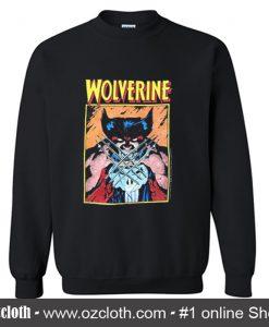 1989 Marvel Wolverine Sweatshirt (Oztmu)