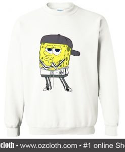 Pondering Spongebob Drawstring Sweatshirt (Oztmu)