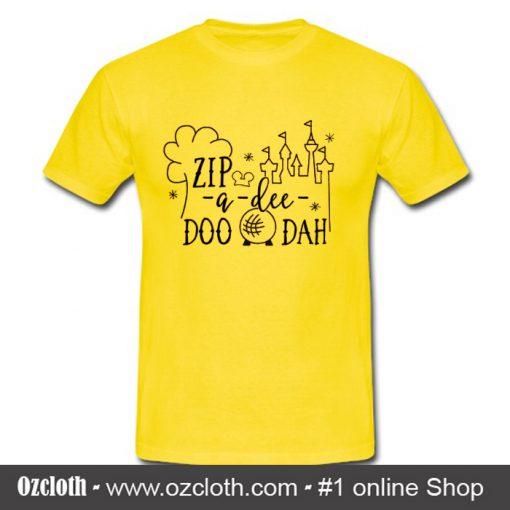 Zip-a-dee-doo-dah T Shirt (Oztmu)