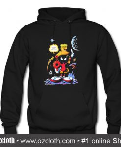 1992 Marvin The Martian Looney Tunes Hoodie (Oztmu)