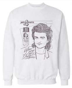 4 Puffs 'Stranger Things' Sweatshirt (Oztmu)
