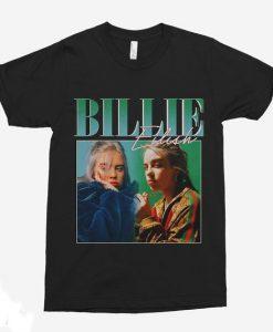 Billie Eilish 90s Vintage Black T-Shirt (Oztmu)