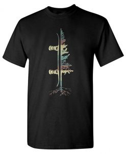 Vintage Pine Snowboard T-Shirt (Oztmu)