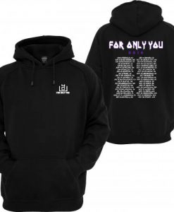 4OU World Tour 2016 Black Front and Back Hoodie (Oztmu)