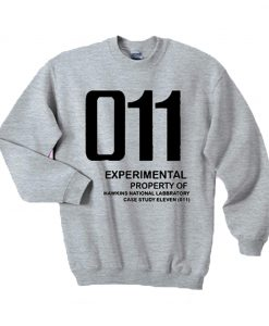 011 Experimental property of hawkins national laboratory sweatshirt (Oztmu)