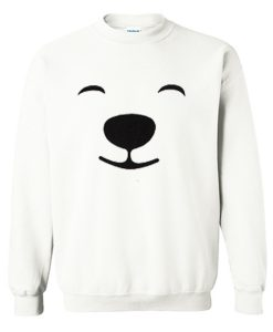 Polar Bear Emoji Sweatshirt (Oztmu)